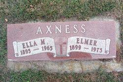 Ella Mabel <I>Bye</I> Axness