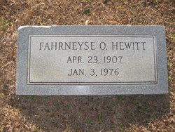 Fahrneyse Olive Hewitt
