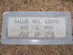 Sallie <I>McLaulin</I> Lloyd