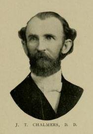 Rev John Thomas Chalmers