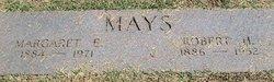 "Margarette E ""Lizzie"" <I>Smith</I> Mays"