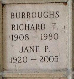 Richard T Burroughs