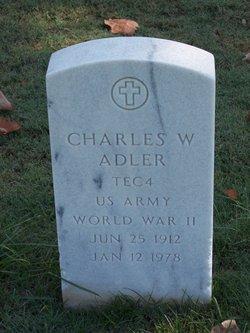 Charles W Adler
