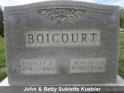 Beulah Lee <I>Deardorff</I> Boicourt