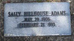 Sally <I>Hillhouse</I> Adams