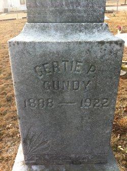 Gertie P Gundy