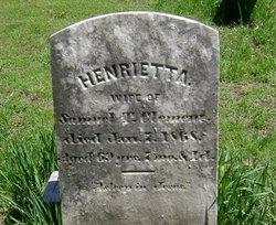 Henrietta Hillegas <I>Anthony</I> Clement