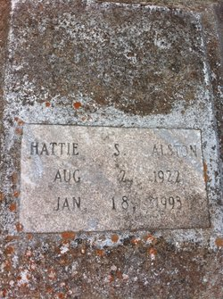 Hattie S Alston