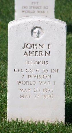John F Ahern