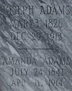 Amanda <I>Thorn</I> Adams