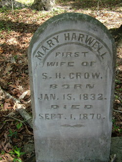 Mary B. <I>Harwell</I> Crow
