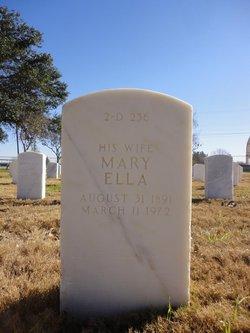 Mary Ella St Leger