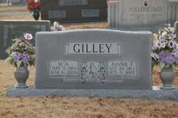Jonnie Bea <I>Freeman</I> Gilley