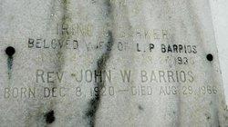 Rev John Warren Barrios