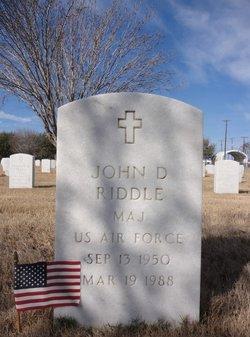 John Duffey Riddle