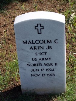 Malcolm Clarence Akin, Jr