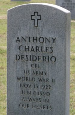 Anthony Charles Desiderio