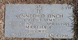 Martha C Finch