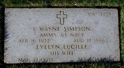 Evelyn Lucille Simpson