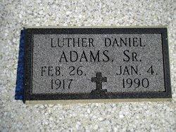 Luther Daniel Adams, Sr