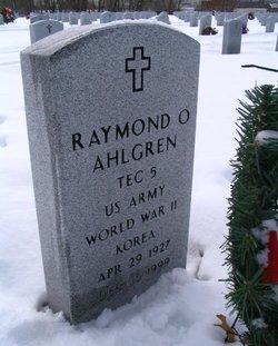 "Raymond O ""Whitey"" Ahlgren"