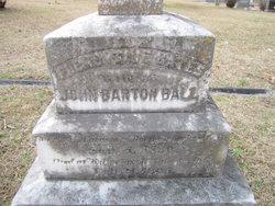 Flementine <I>Bates</I> Ball