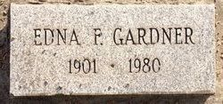 Edna Florence <I>Whitaker</I> Gardner