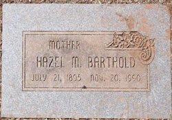 Hazel M <I>Hicks</I> Barthold