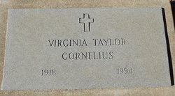 Virginia <I>Taylor</I> Cornelius