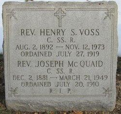 Rev Henry S Voss