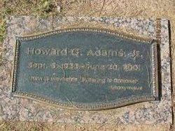 "Howard G ""Honorary Firefighter"" Adams, Jr"