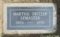 Martha A <I>Davis</I> LeMaster