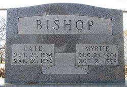 "Myrtle ""Myrtie"" <I>Fullen</I> Bishop"