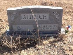 """Ross Earl """"Jack"""" Aldrich"""