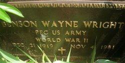 Benson Wayne Wright