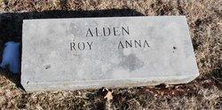 Anna <I>White</I> Alden