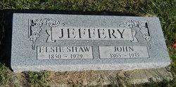 Elsie <I>Shaw</I> Jeffery