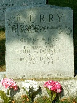 Edith M <I>Donelly</I> Urry