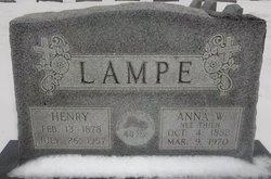 """Anna Wilhelmina """"Annie"""" <I>Thien</I> Lampe"""