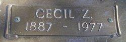Cecil Z. Overmyer