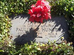 Pauline Evelyn <I>Morgan</I> Hunter