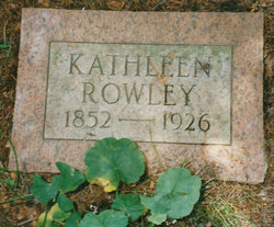 "Catherine ""Cathleen"" <I>Gravenstein or Grabenstein</I> Rowley"