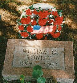 """William Gordon """"Bill"""" Rowley"""