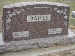 Violet <I>Gibson</I> Bahls