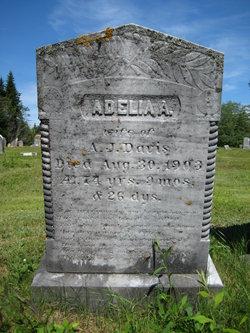 Adelia A Maker <I>Davis</I> Davis