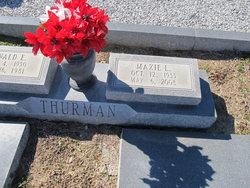 Maxie <I>Luke</I> Thurman