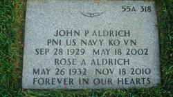 John P Aldrich