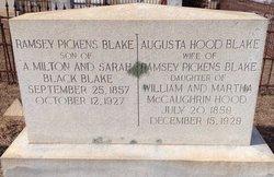 William Ramsey Pickens Blake