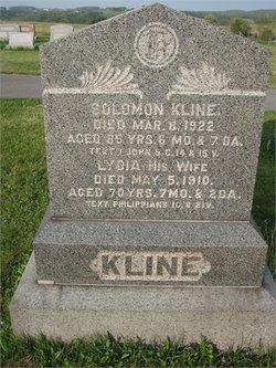 Lydia <I>Brouse</I> Kline