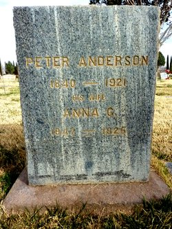 Anna Georgene <I>Rasmussen</I> Anderson